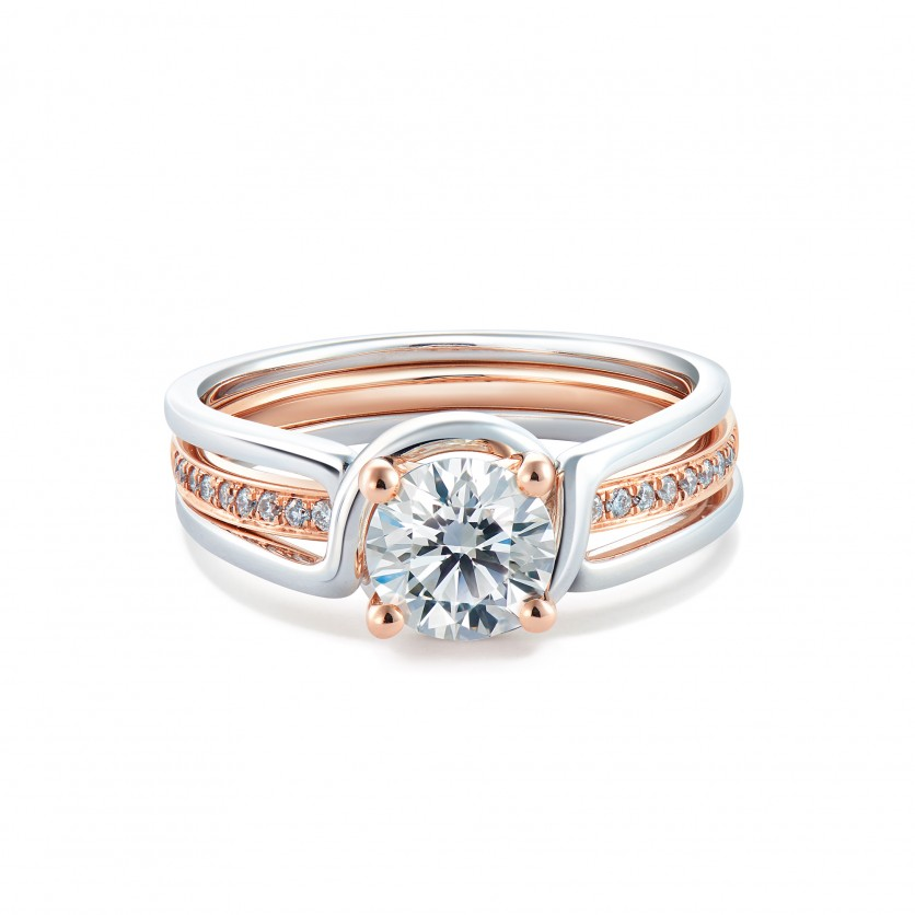 Revel For Forevermark Solitaire Diamond Ring