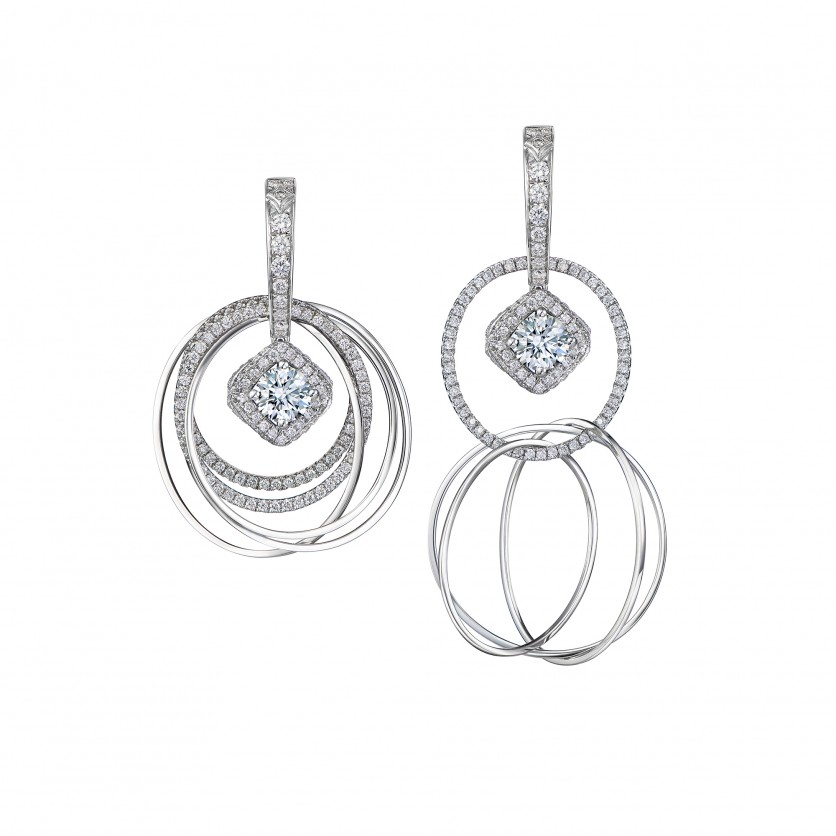 Revel Convertible Diamond Earrings