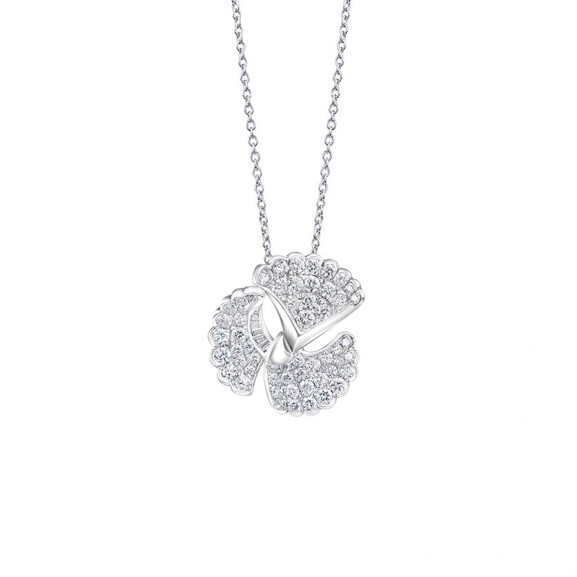 DeGem Fansy Diamond Necklace