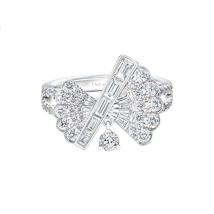DeGem Fansy Diamond Ring
