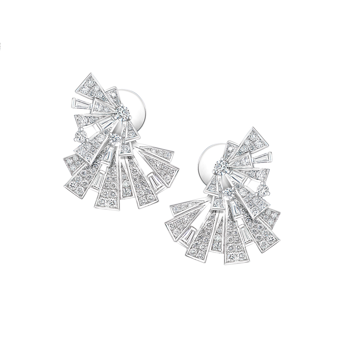 DeGem Fansy Diamond Earring