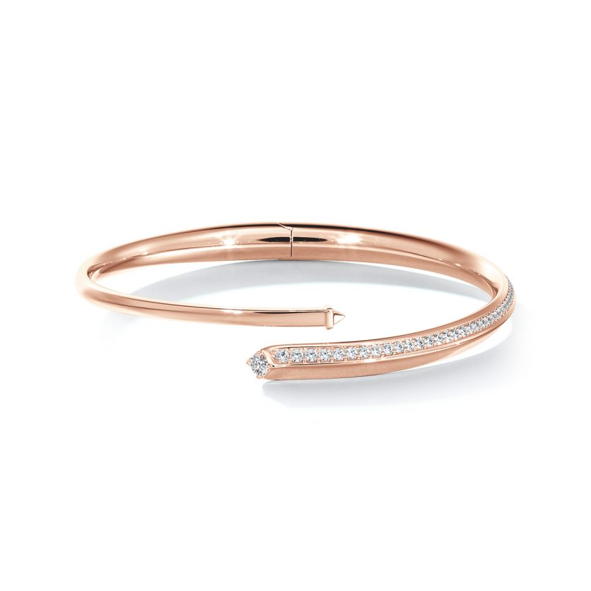 Forevermark Avaanti™ Pavé Bypass Bangle
