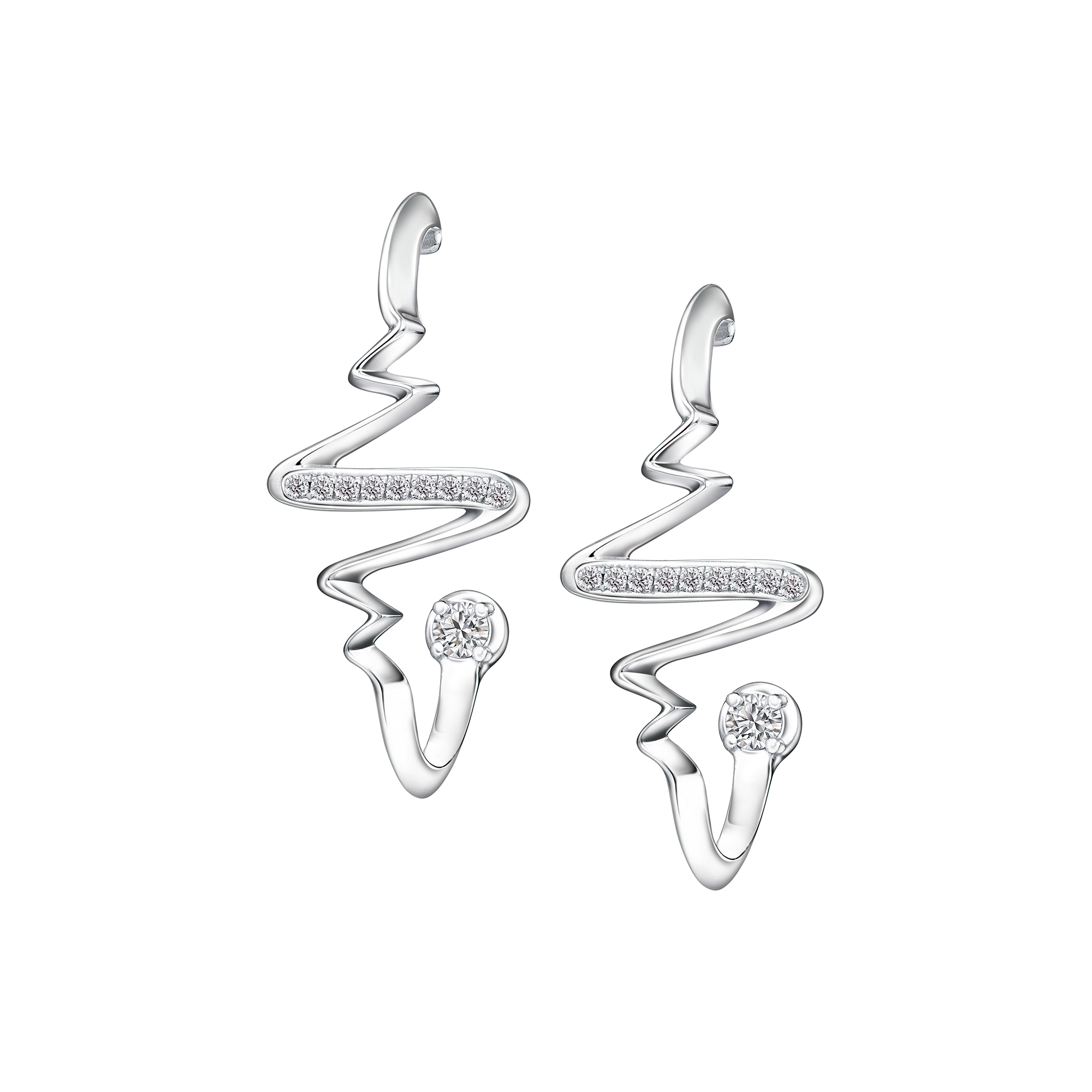 Soleluna AJYLE Rhythm Diamond Earrings