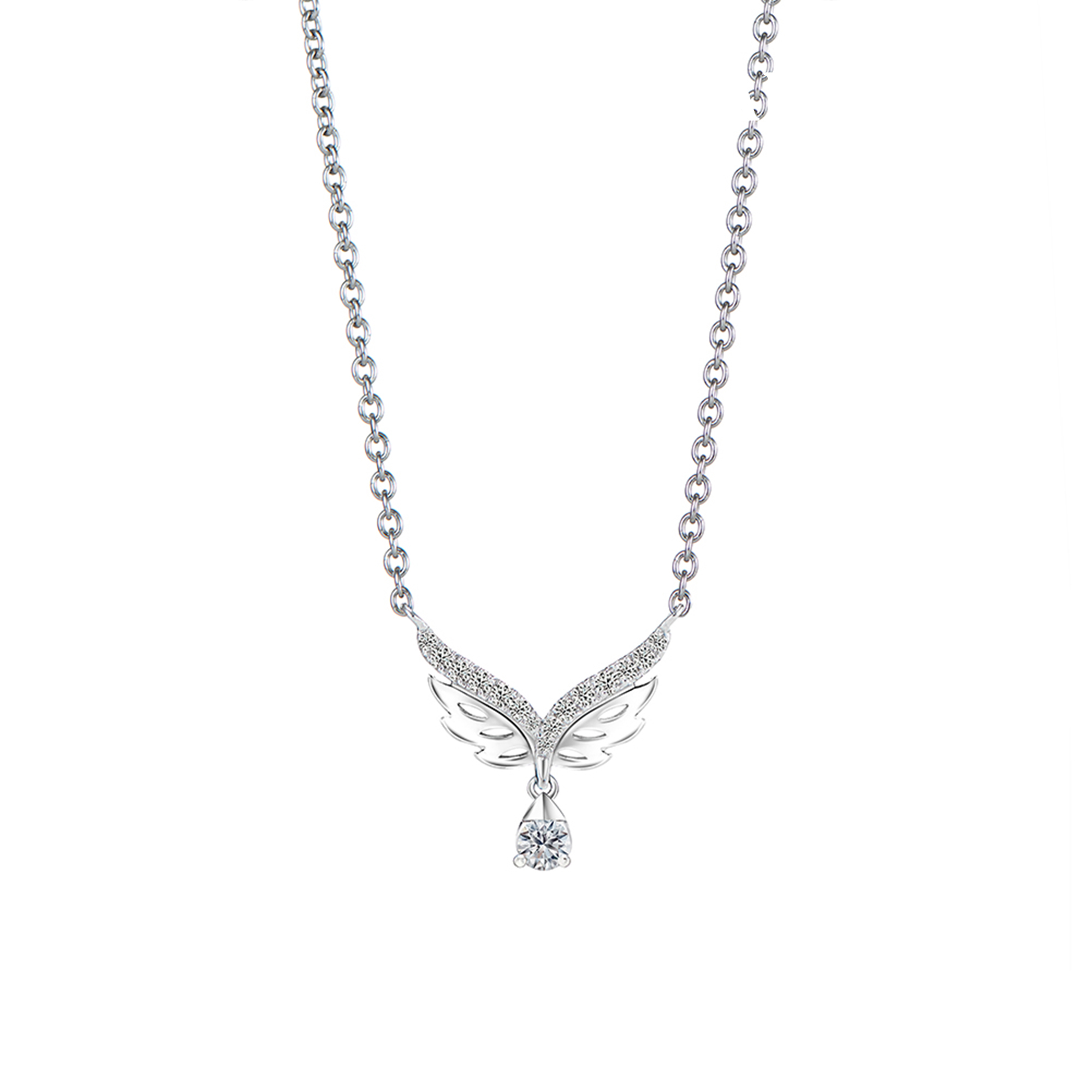 Soleluna AJYLE Flutter Diamond Necklace