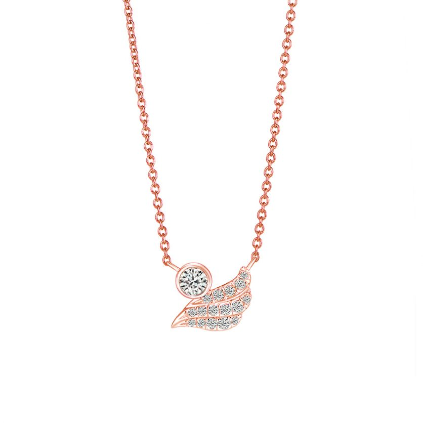 Soleluna AJYLE Flow Diamond Necklace