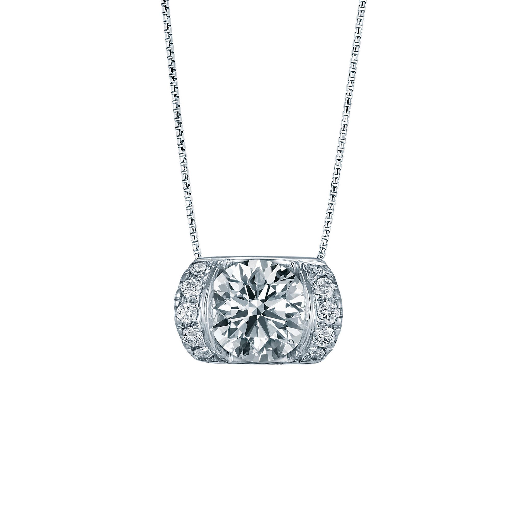 Lazare Roller Glam Diamond Necklace