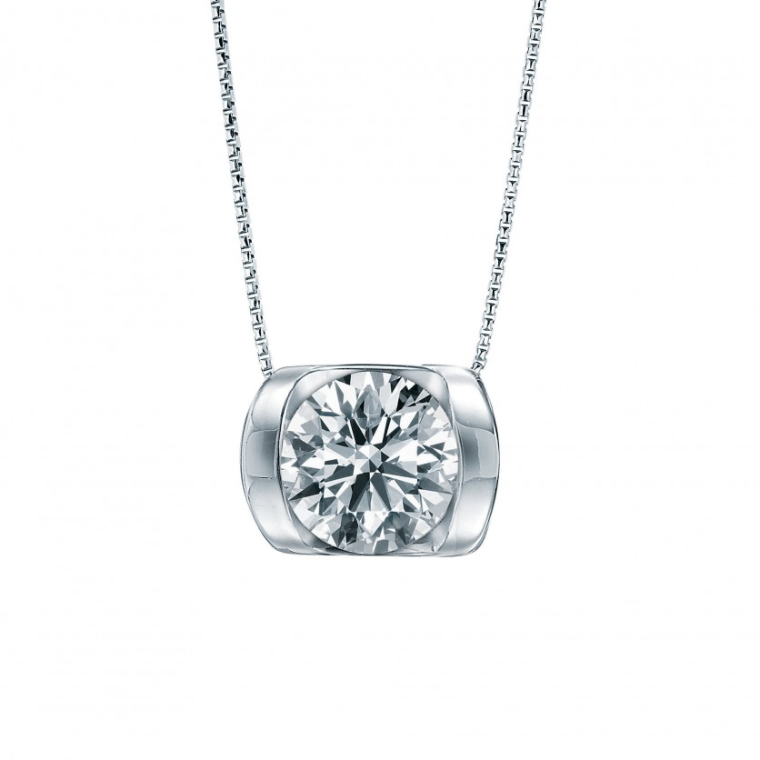 Lazare Roller Glam Diamond Pendant Necklace