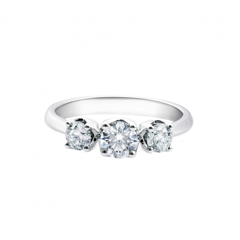Lazare Trinity Diamond Ring