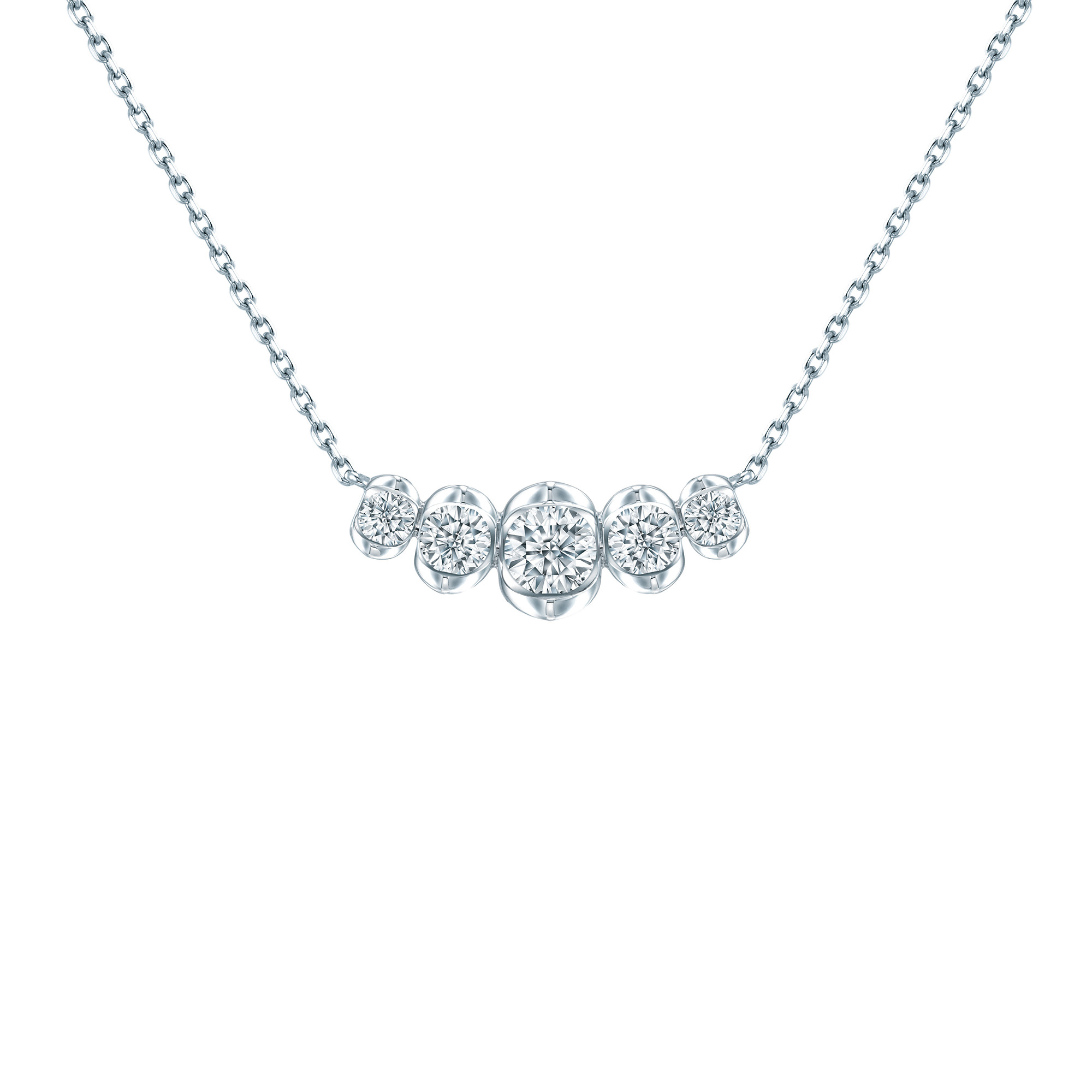 LAZARE® Love Loop Diamond Necklace