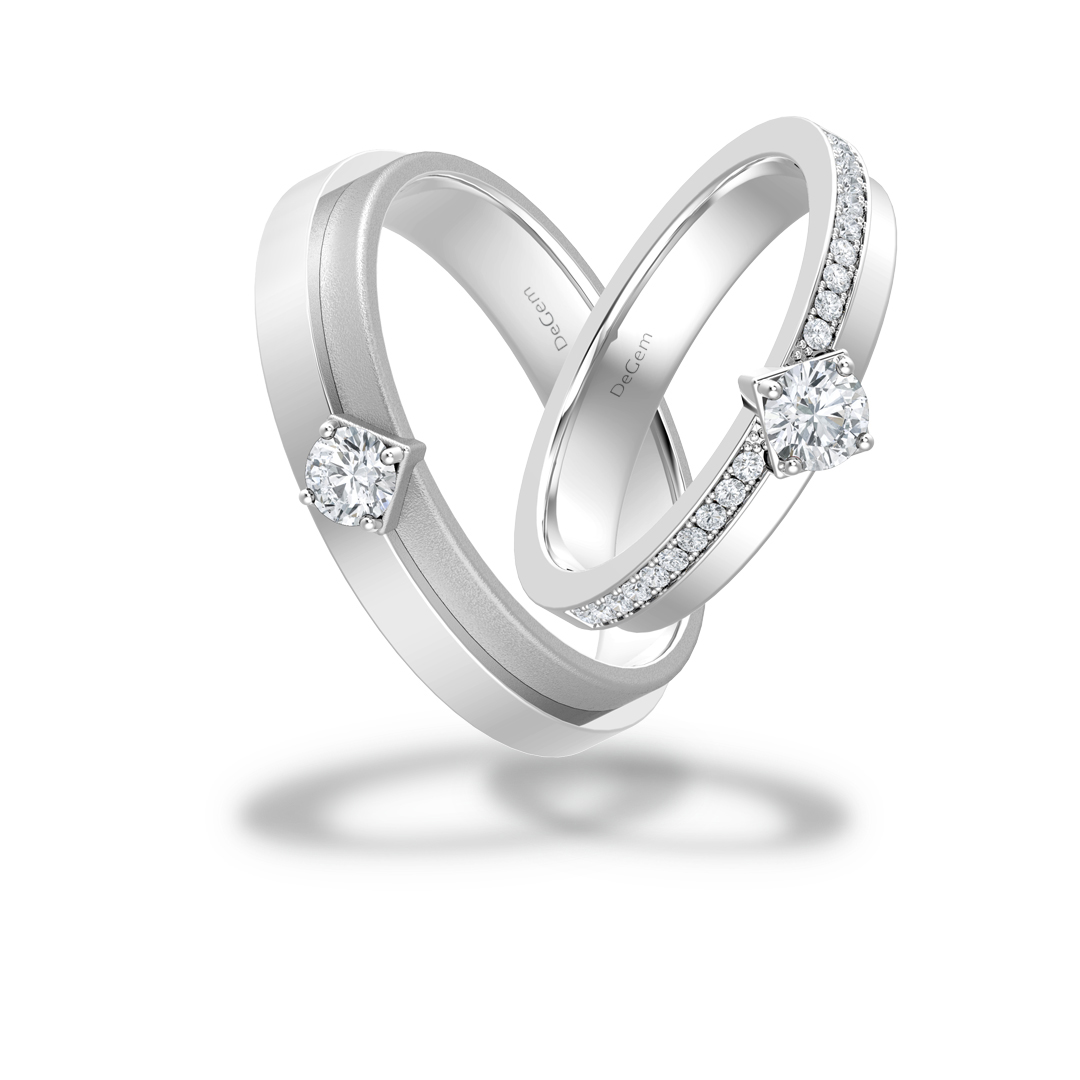 Forevermark Regal Wedding Band By DeGem