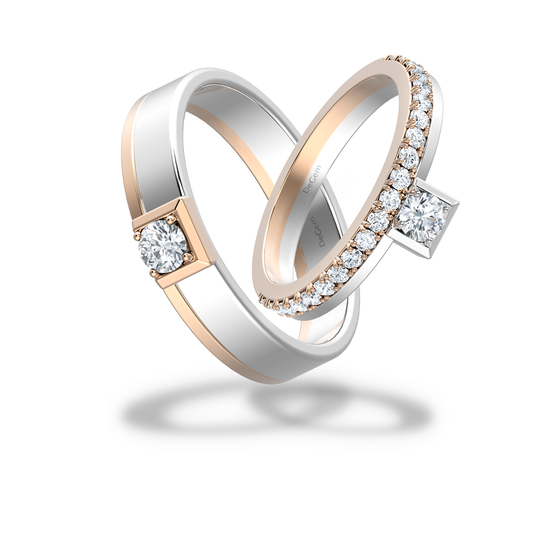 Forevermark Tiara Wedding Band By DeGem