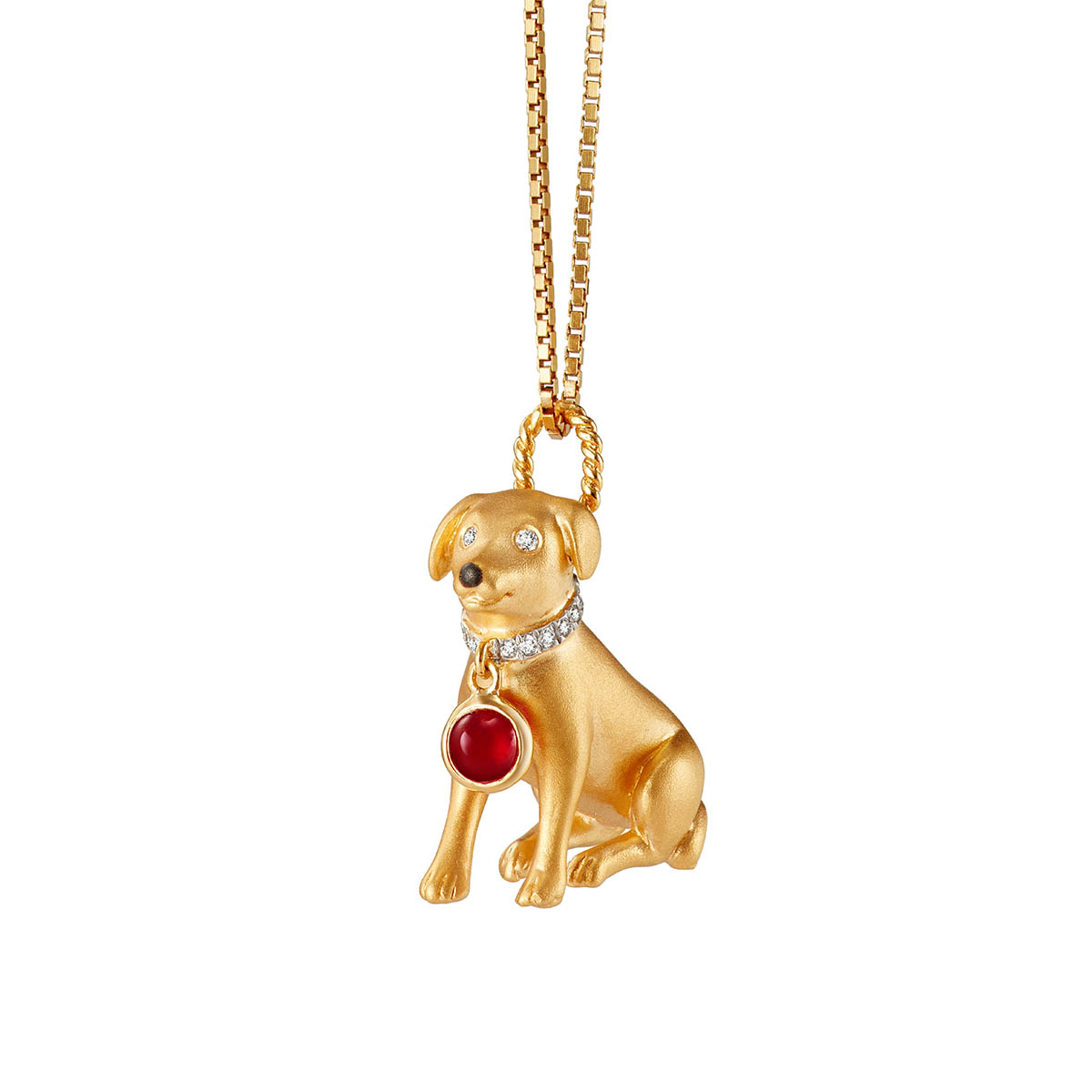Loyal Hound Pendant
