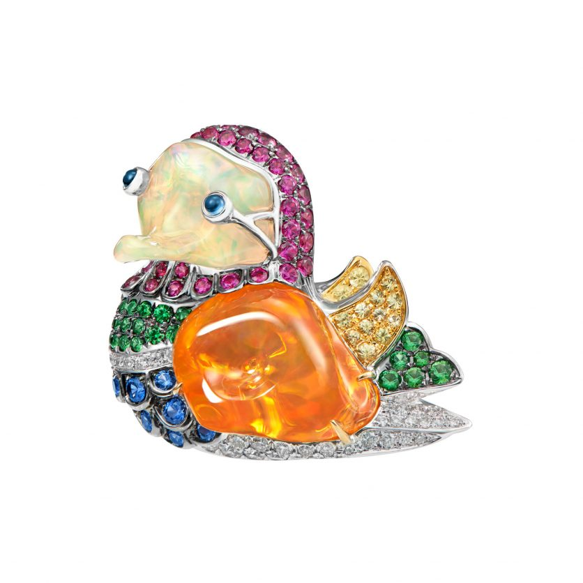 Dynasty of Ducks Pendant