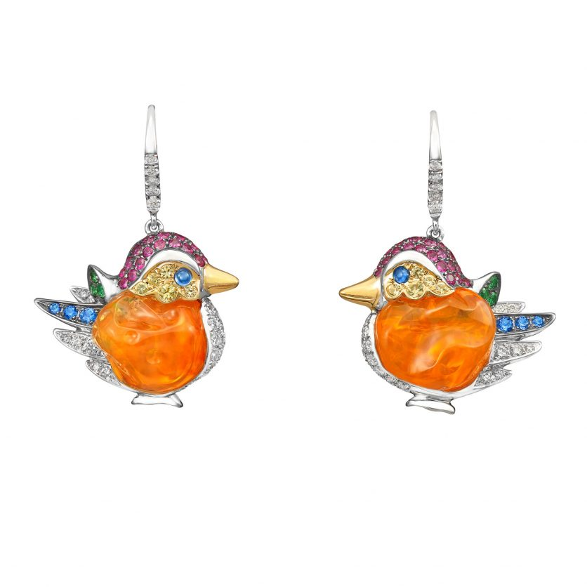 Dynasty of Ducks Earrings