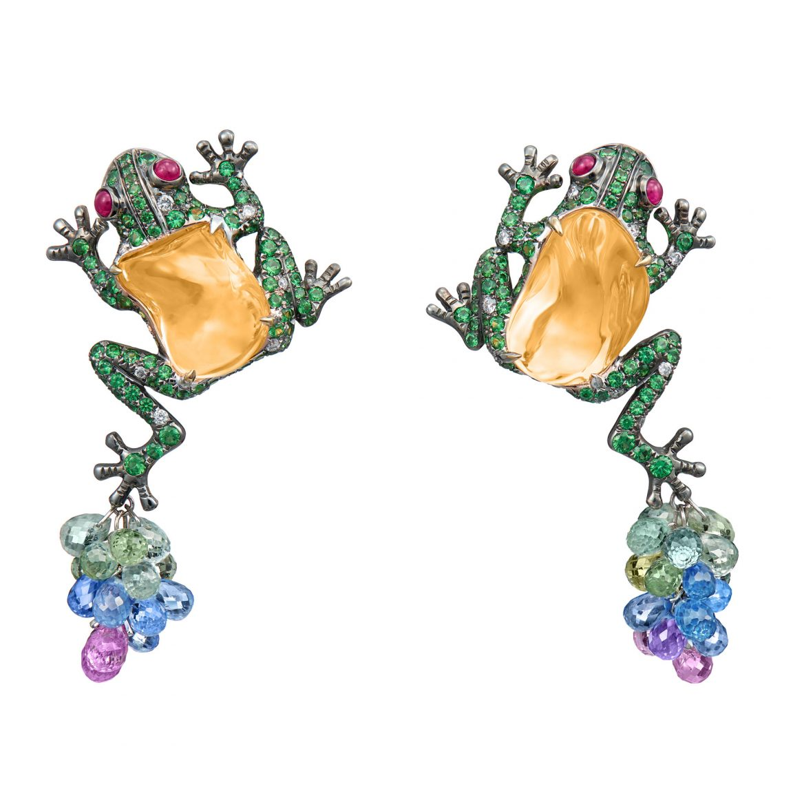 Leap Frogs Earrings