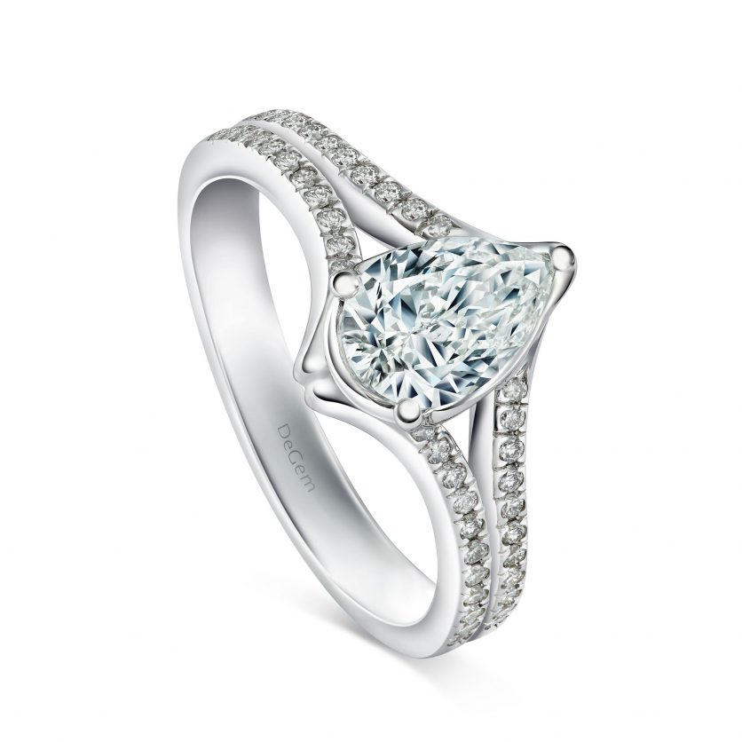 Forevermark Versatile Pear Diamond Ring