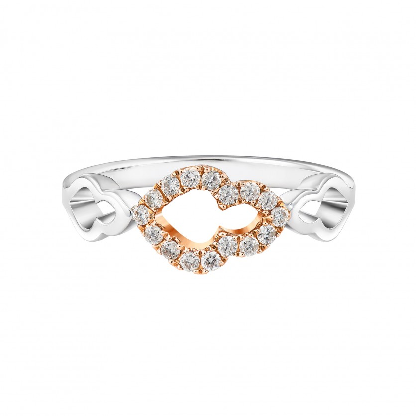 Soleluna ASTRA Wave Trio Ring