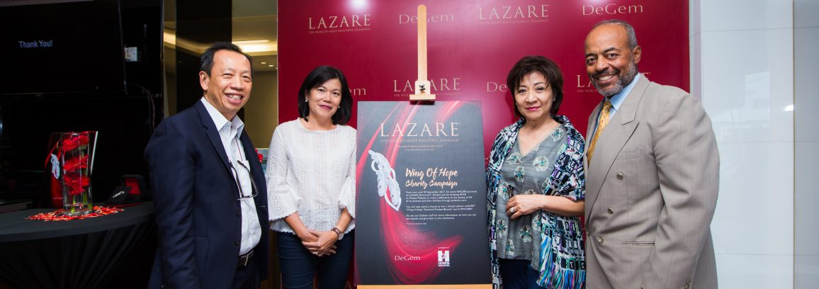 Launch of Lazare Wing of Hope Campaign