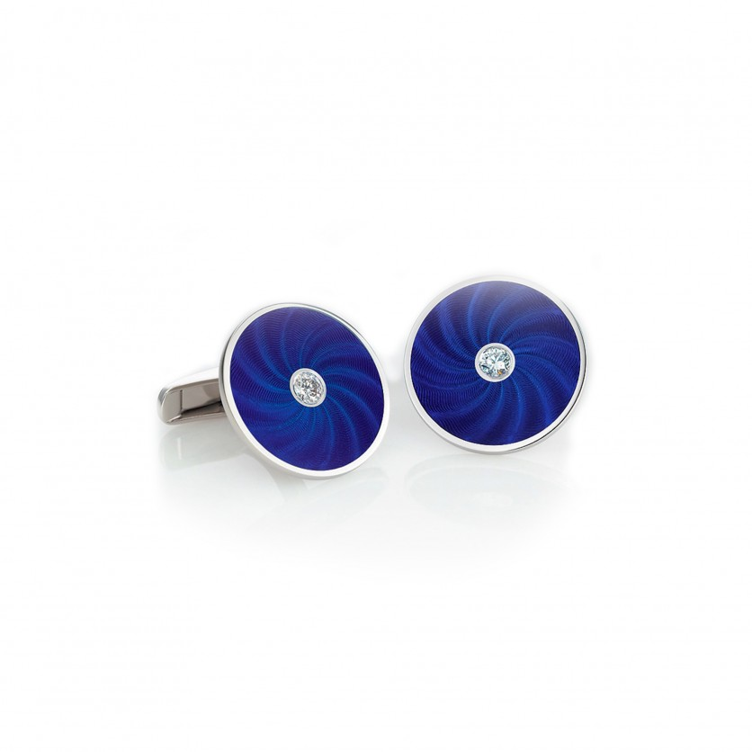 Victor Mayer Royal Blue Cufflinks