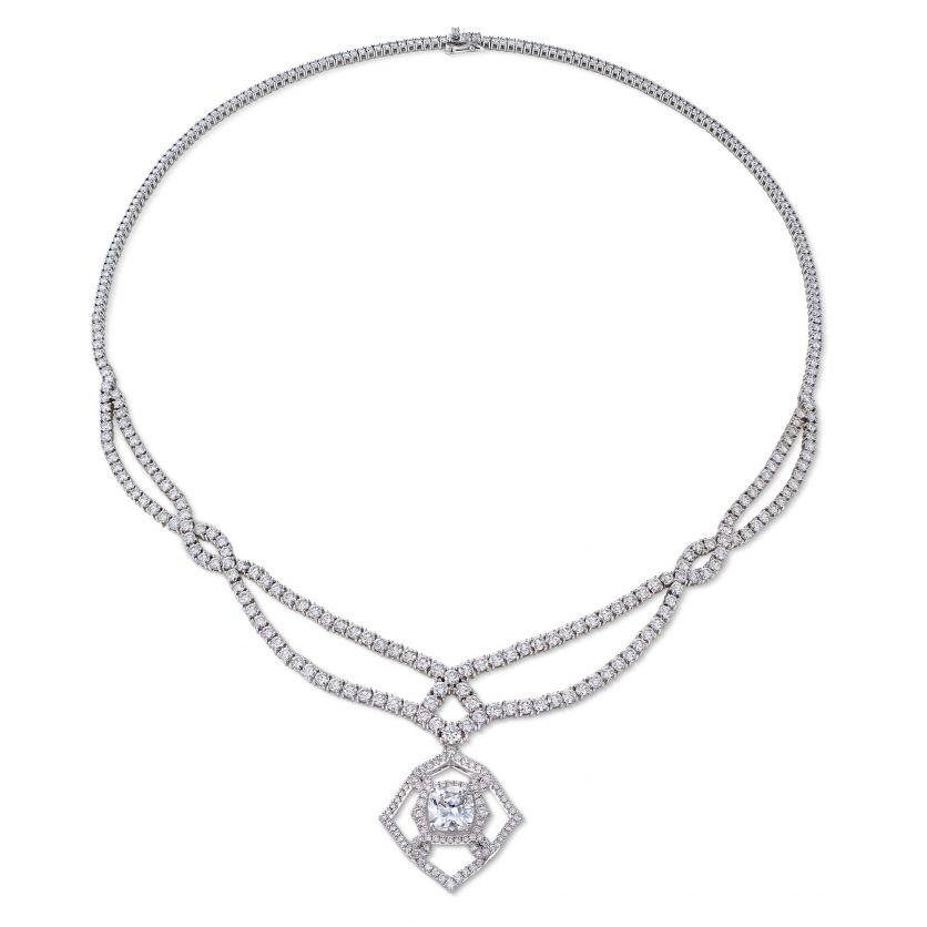Venetian Knot Grand Diamond Necklace
