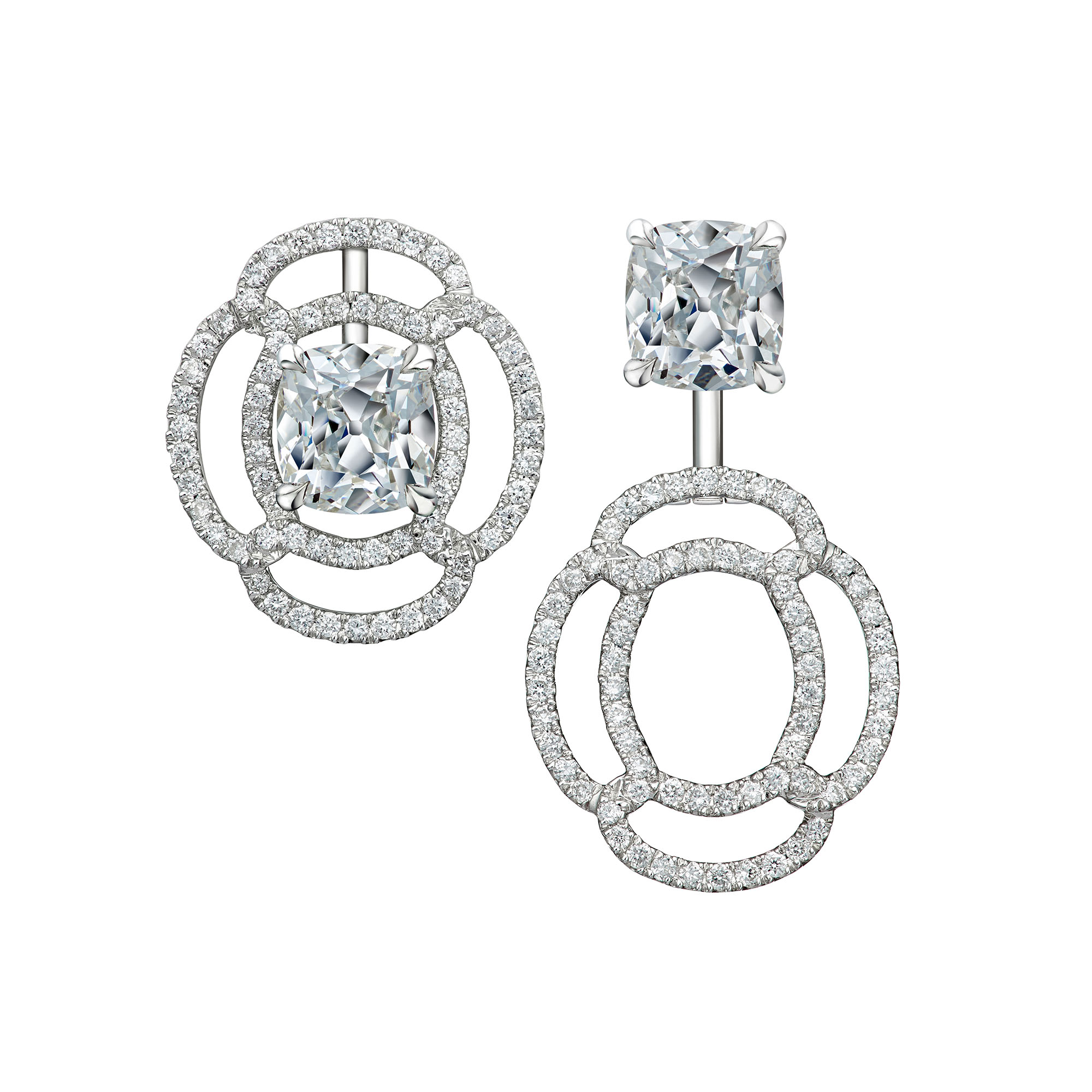 Venetian Knot Two Way Earrings