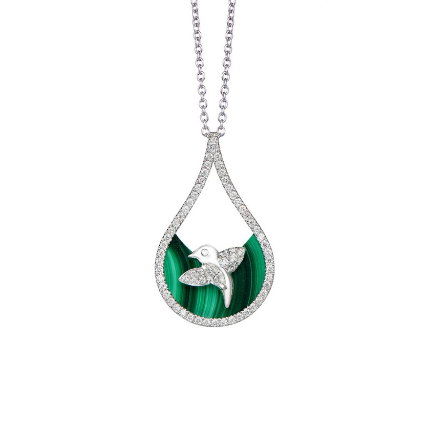 DeGem W!nk Diamond Necklace