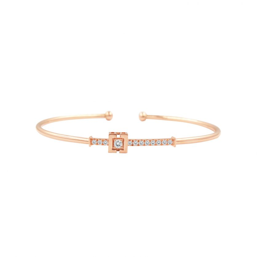 Soleluna AJYLE Harmony Line Diamond Bangle